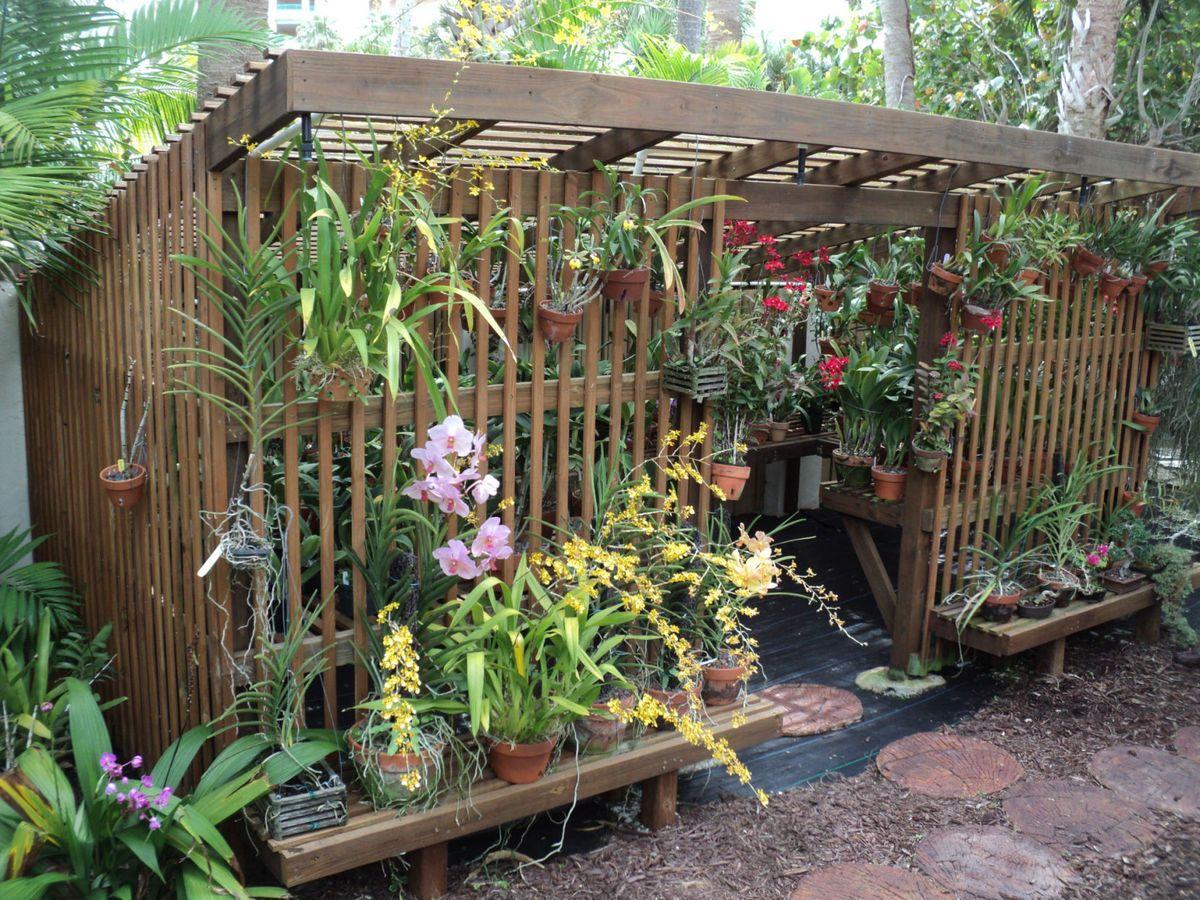 Orchid Lath House Design
