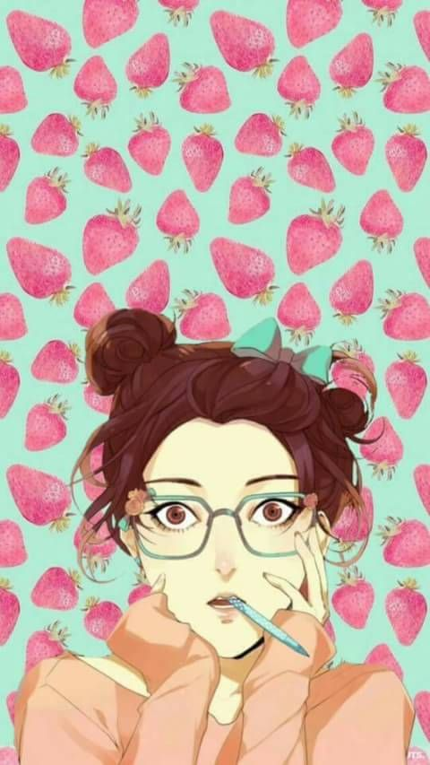 Lock screen Desyca by Salsabila || Manga, webtoon, heroine, girl