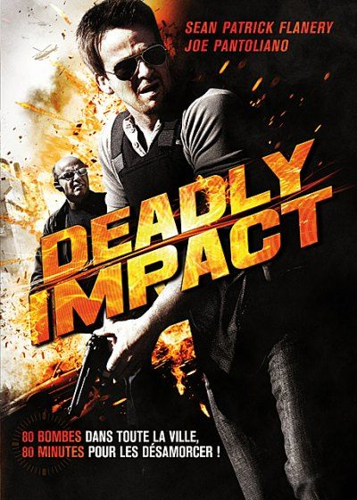 Olumcul Darbe - Deadly Impact - 2010 - DVDRip Film Afis Movie Poster