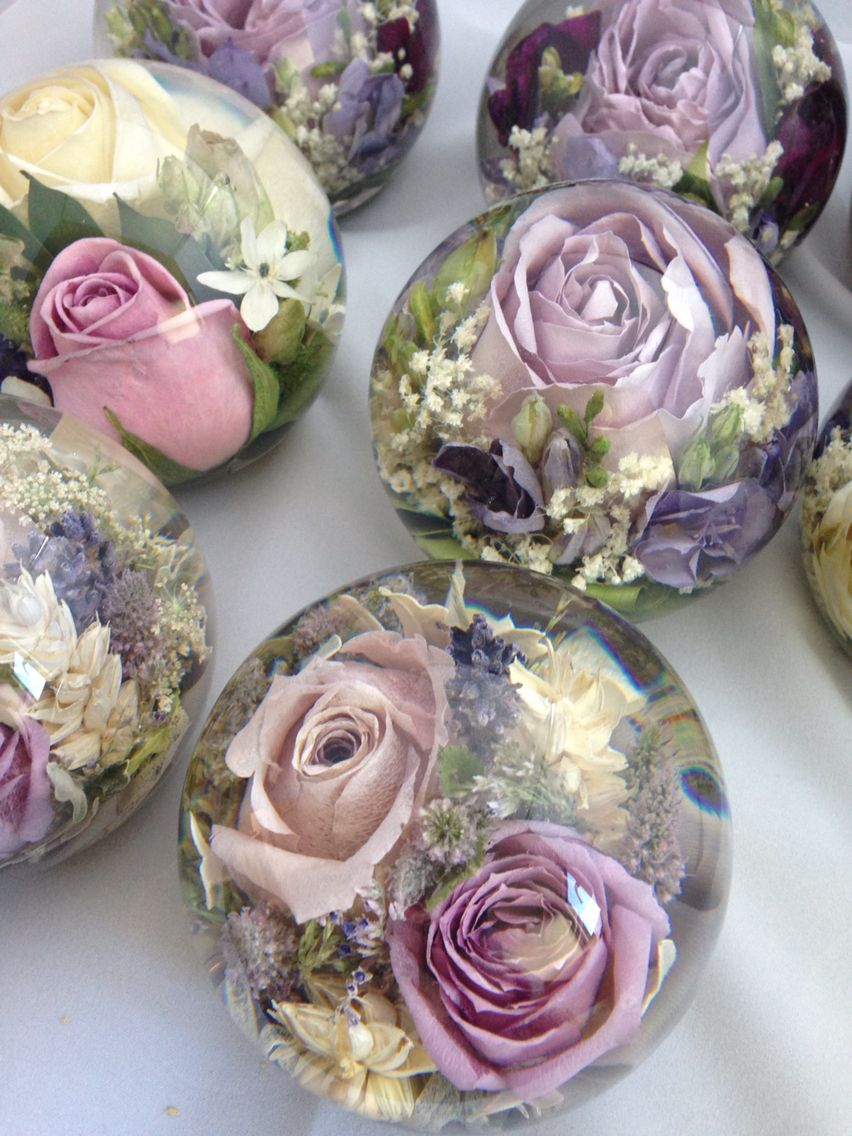 how to preserve wedding bouquet in resin