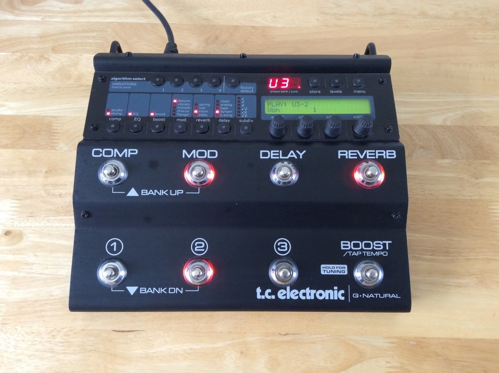Pin By Dan Ryan On My Gear Effects Pedals Acoustic Guitar Guitar Multi Effects Pedal
