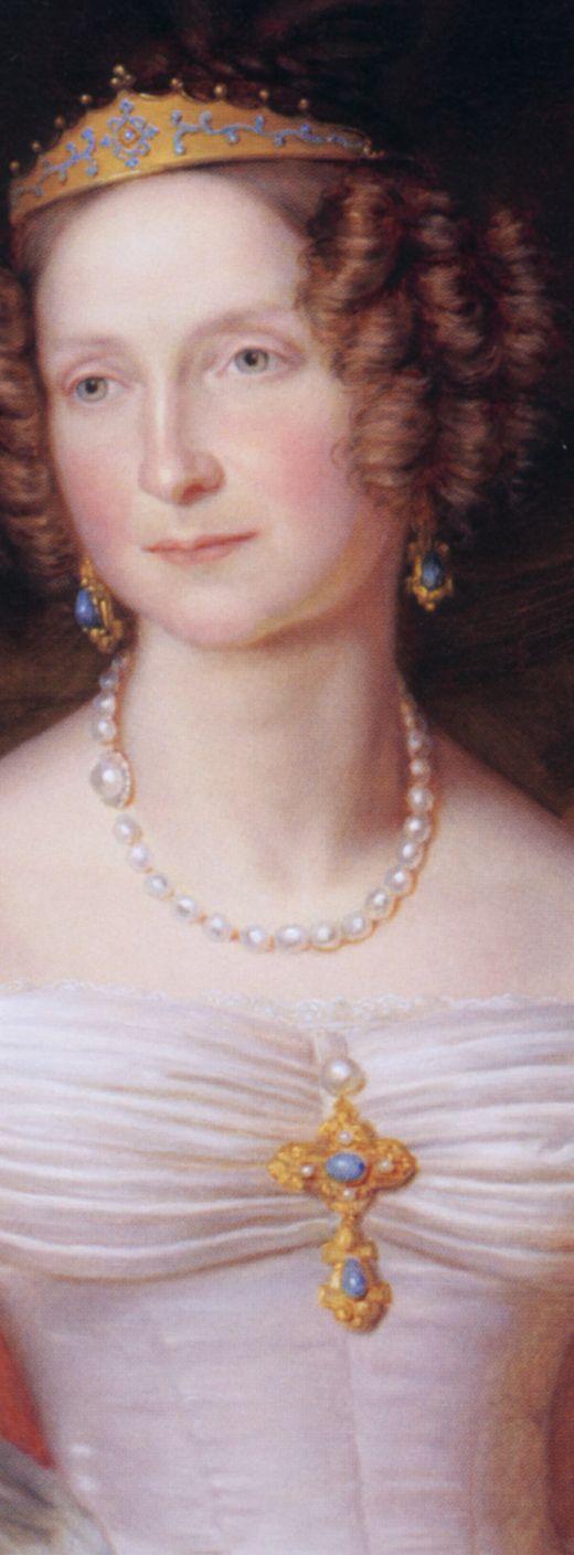 1837 Queen Anna Pavlovna of the Netherlands by Jan Baptist van der Hulst