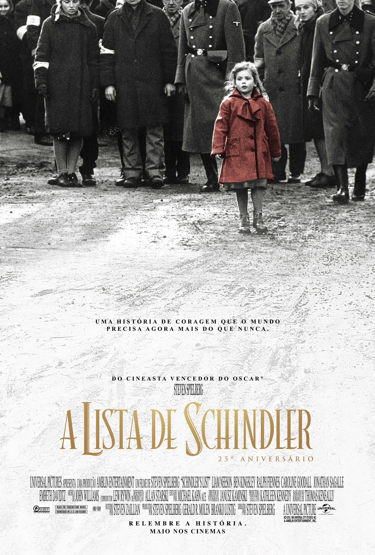 A Lista De Schindler 25 Anos Critica Filme A Lista De Schindler A Lista De Schindler Cartazes De Filmes De Terror