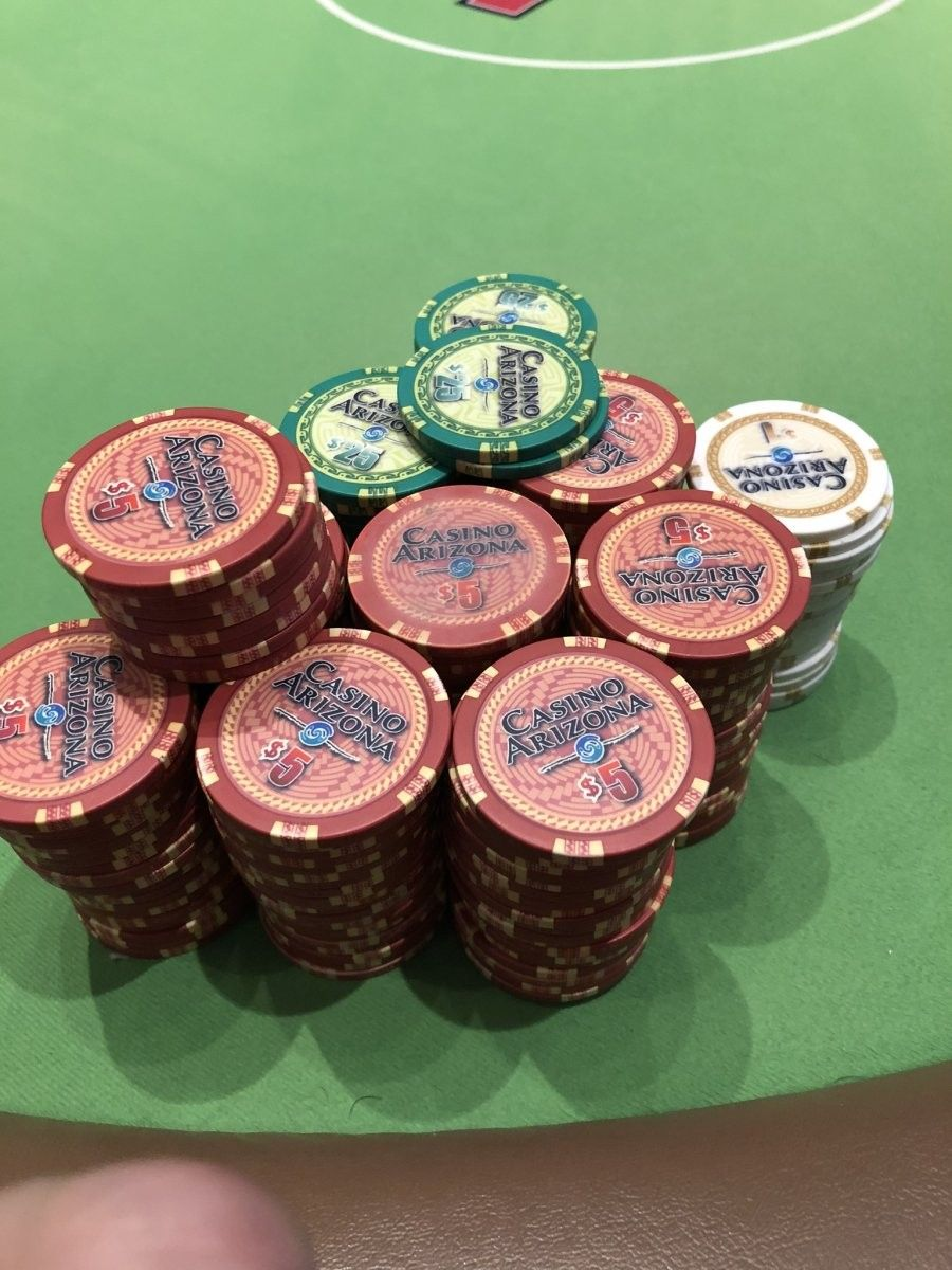 Casino Arizona Chip Jack black, Poker, Roulette