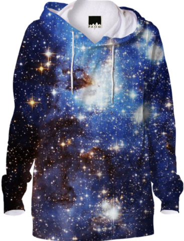 Blue Galaxy Hoodie - Available Here: http://printallover.me/collections/sondersky/products/0000000p-blue-galaxy-2
