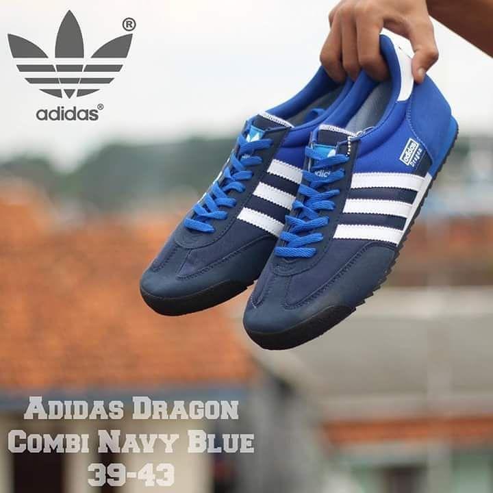 Setatu Keren High Quality Harga Miring Adidas Dragon Combi Navy