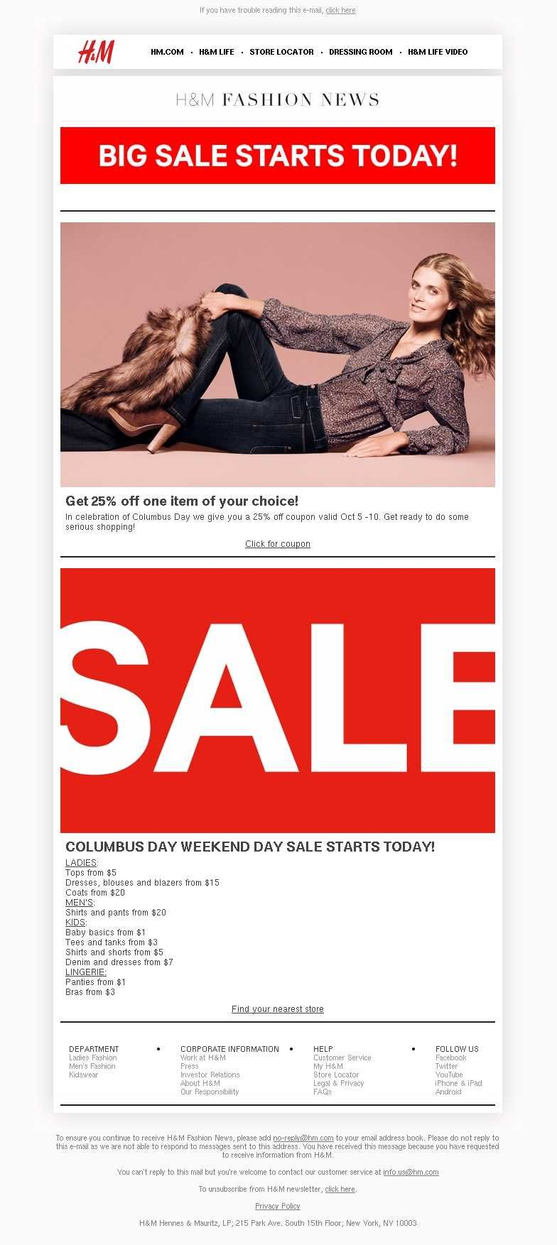 Email Marketing For Special Occasions Columbus Day Columbus Day Email Marketing Day