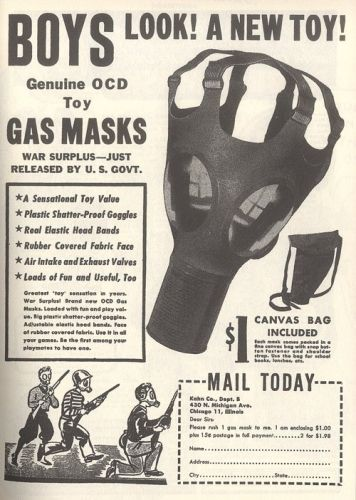 toy gas masks, only $1! order yours today! (via vintag.es)
