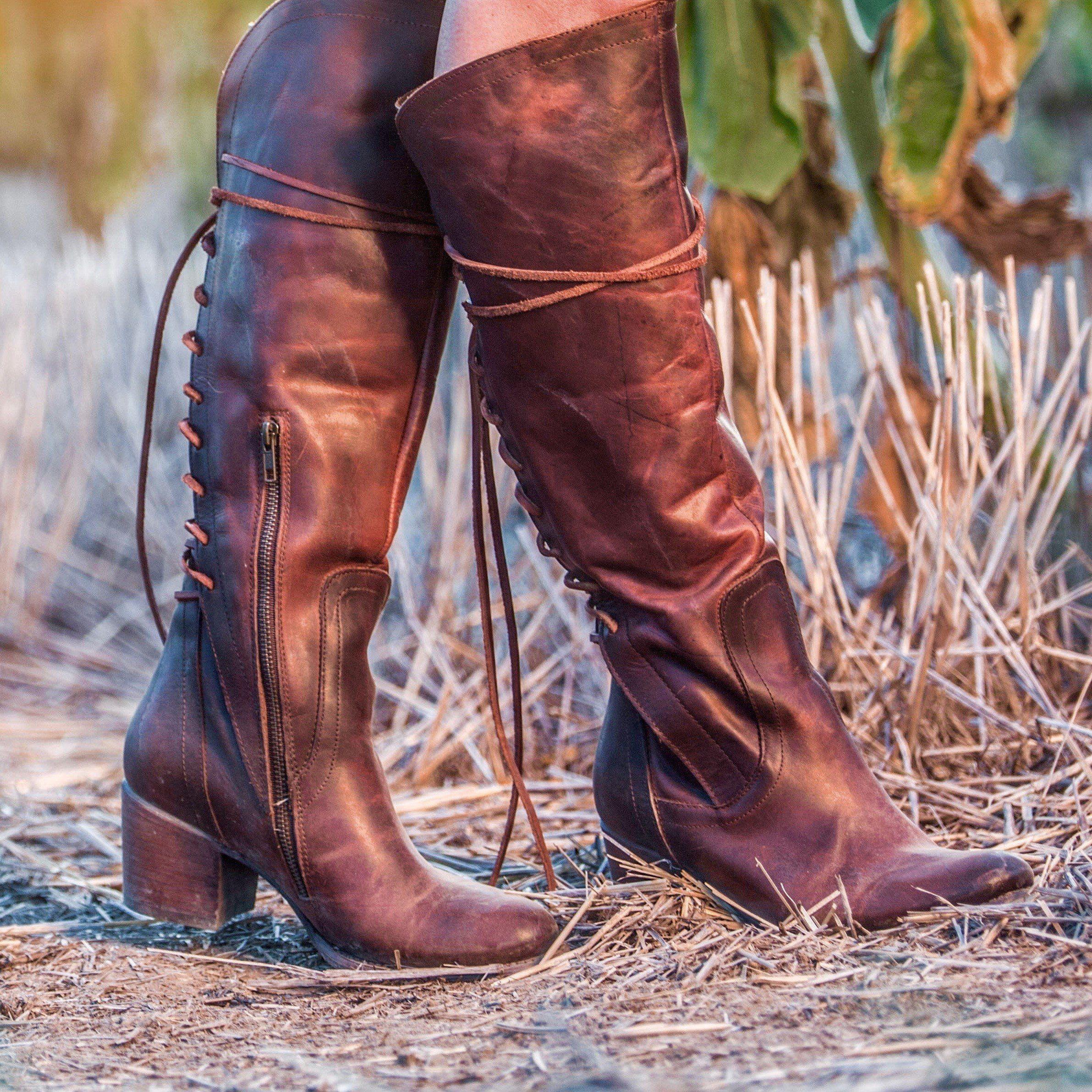 96021c2ddb4 FREEBIRD by Steven® - WOMEN S BOOTS. womens freebird canon brown boot. Wide  Calf ...
