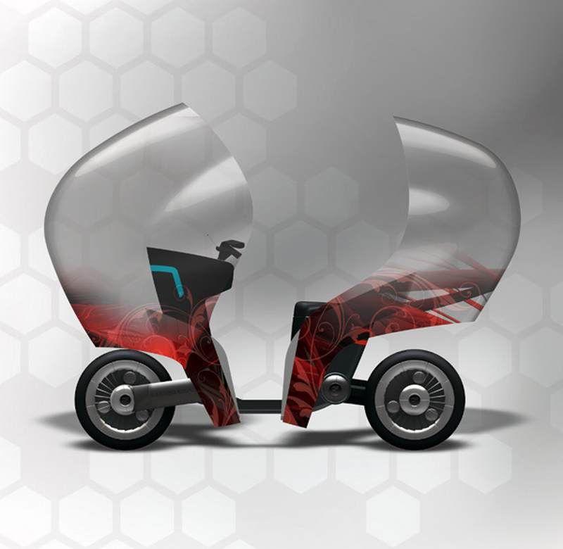 Honda Gyro Bike Motorcycle Design Bike Honda Bikes