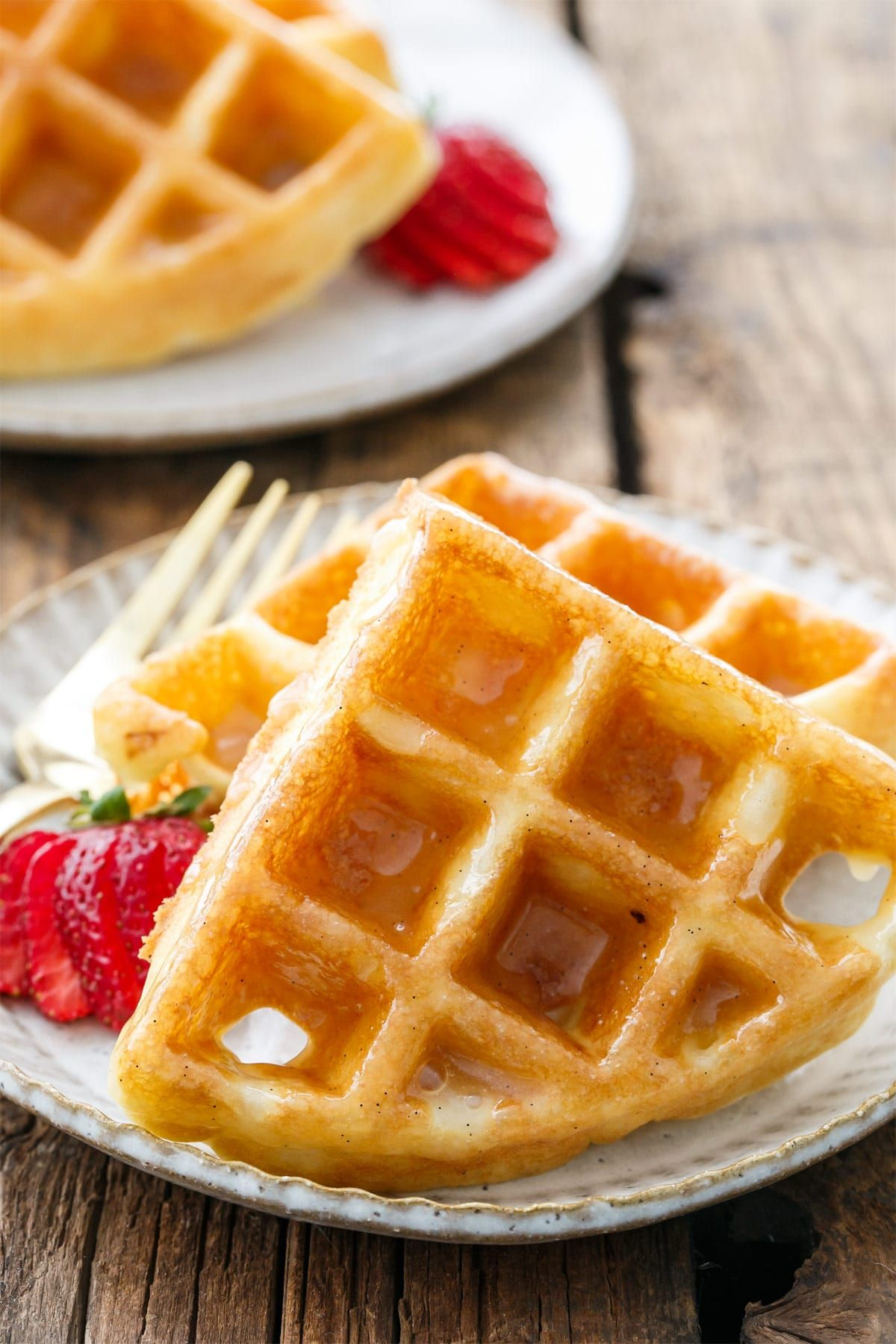 Donut Glazed Yeasted Waffles Love And Olive Oil Resep