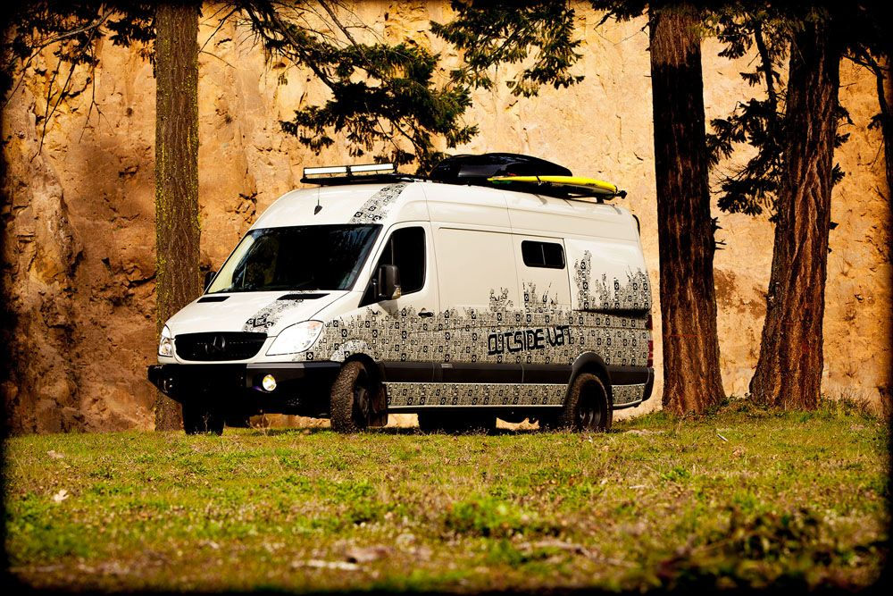 Sprinter Outside Van MercedesBenz Lynnwood Sprinter