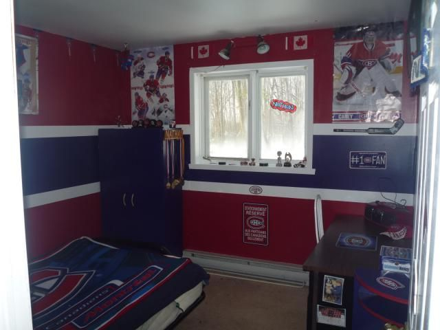 Montreal canadiens kids theme room habs pinterest for Chambre a coucher montreal