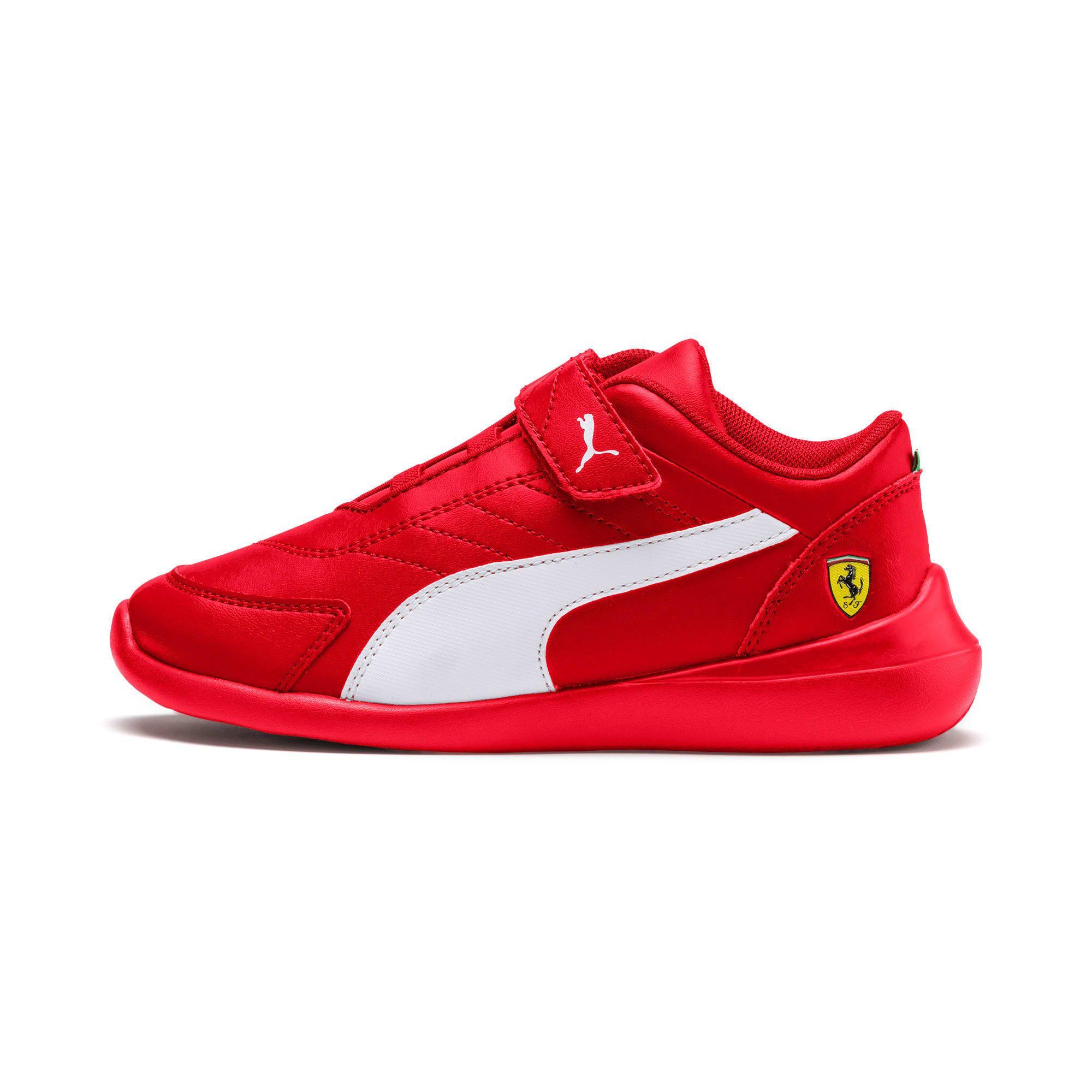 basket puma rouge enfant