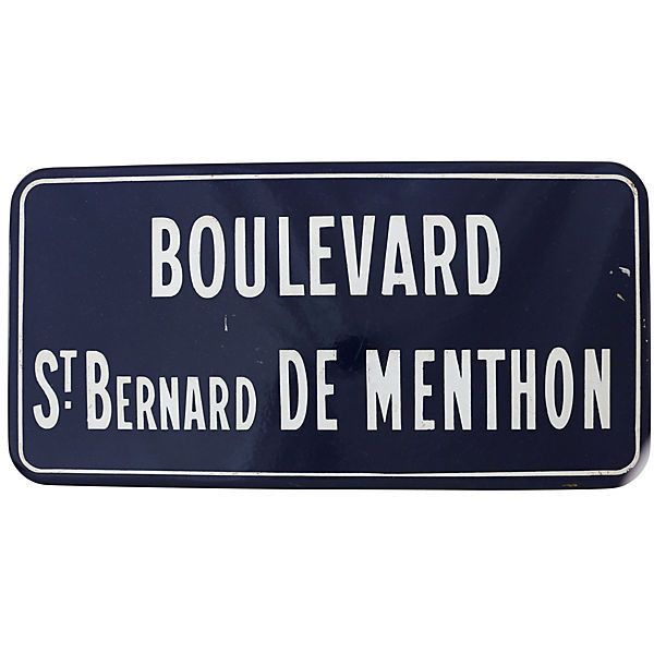 Street Sign Home Decor Amusing Preowned French Enamel Street Sign 595 Bam ❤ Liked On Polyvore Review