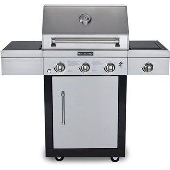 What are some good KitchenAid outdoor grills?