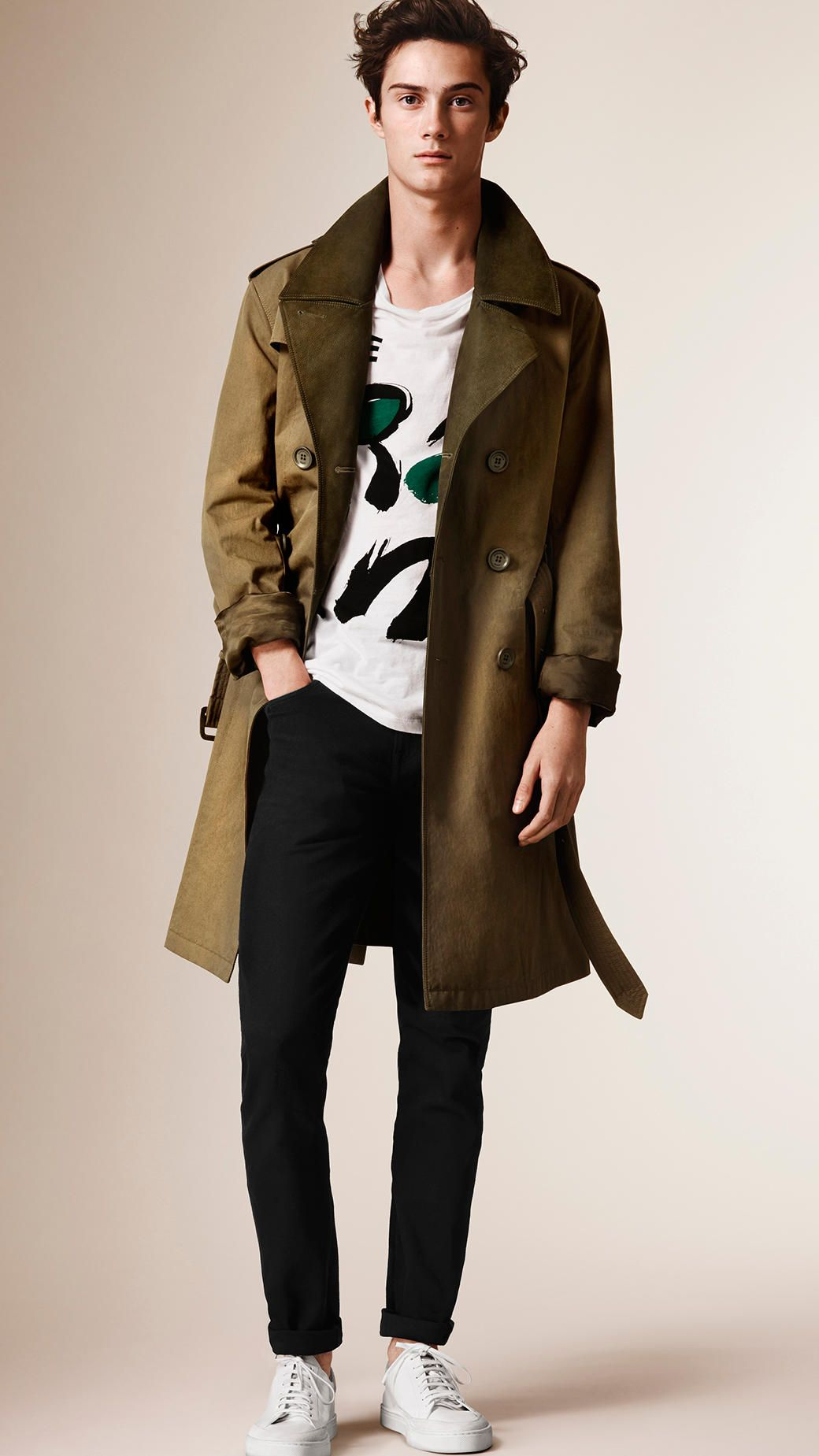 Trench Coats For Men Burberry Trench Coat Men Winter Fashion Casual Mens Coats
