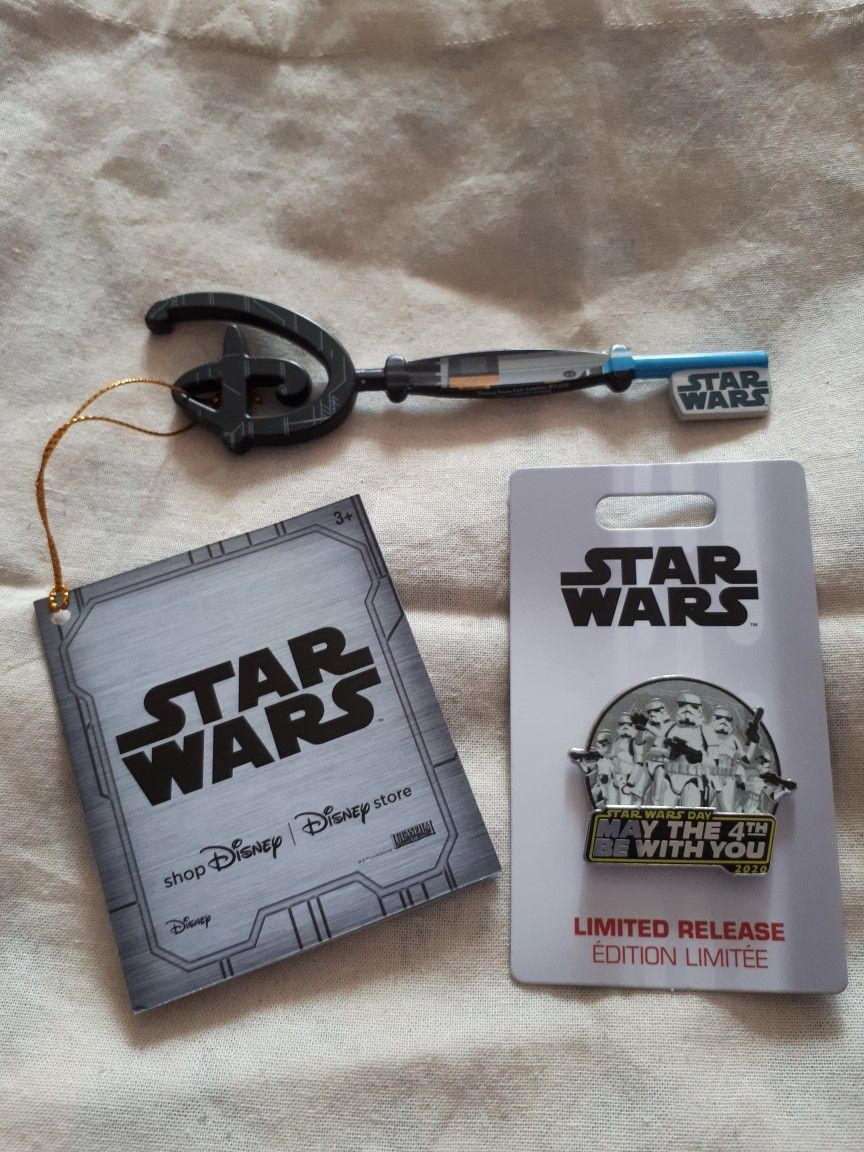 Star Wars Disney Store Luke Skywalker Key European UK Version Key ⭐️