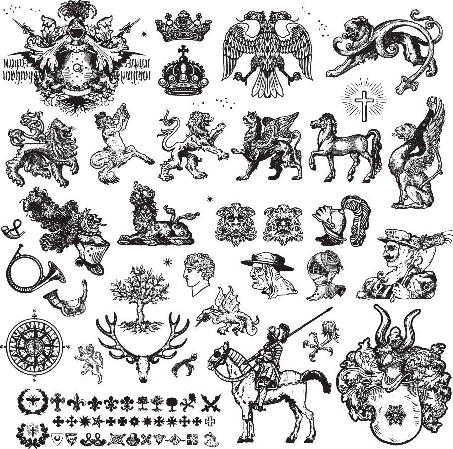アールヌーボー Google 検索 Medieval Tattoo Doodle Drawings Art Nouveau Tattoo