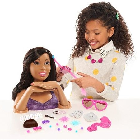 Barbie Color Crimp Aa Styling Head Target Ad Barbie Styling Head Baby Dolls For Kids Barbie