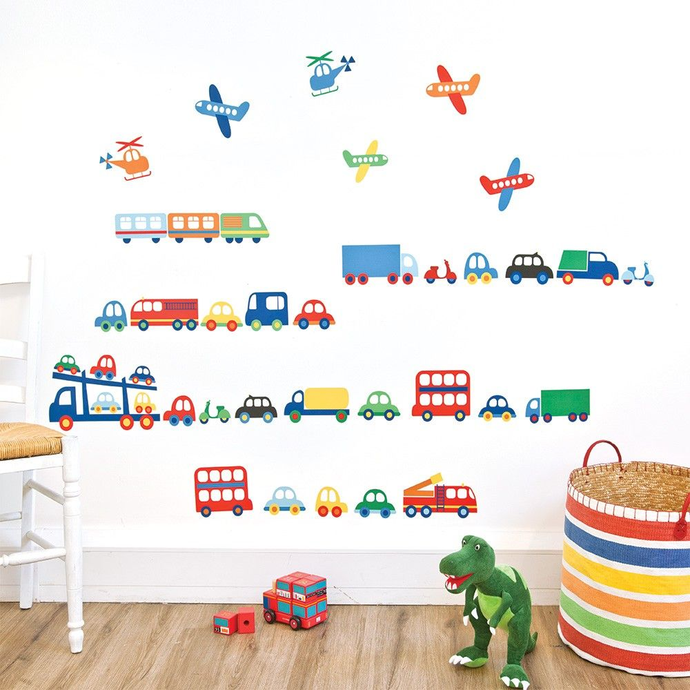 If Youu0027re Looking For A Simple Way To Liven Up A Bedroom Or Nursery Without  Affecting Paintwork, Choose Our Transport Wall Stickers. Featuring A Gorge