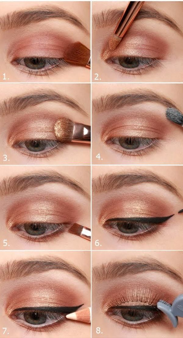 Makeup Step By Step For Blue Color Eyes Blue eye makeup