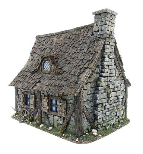 Dollhouse Miniatures Jensen: Casas Piedra, Casas De Hadas, Casas De