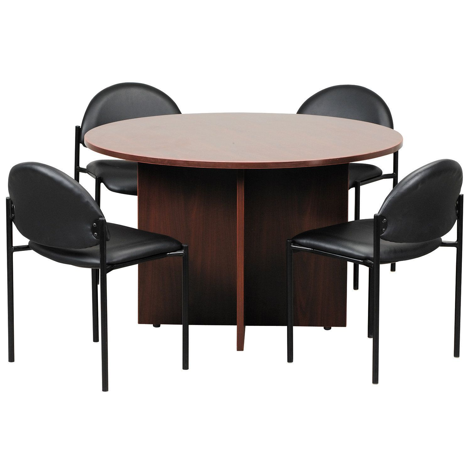 Boss 47 Inch Round Conference Table Round Conference Table Round Office Table Conference Table