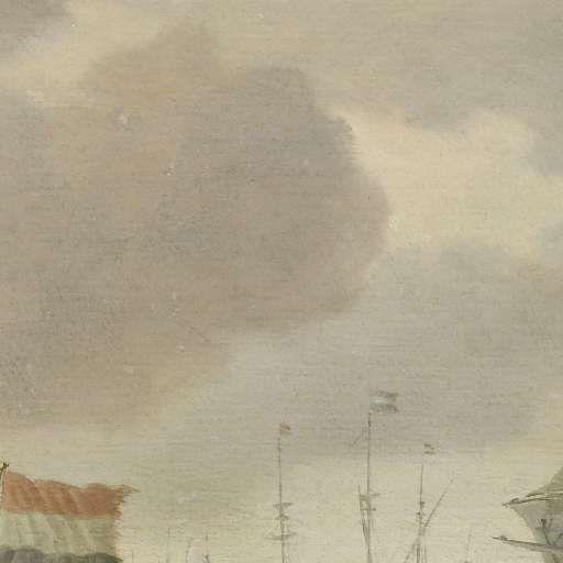 Schepen voor de kust bij flinke bries, Willem van de Velde (II), ca. 1650 - ca. 1707 - Willem van de Velde II - Kunstenaars - Ontdek de collectie - Rijksmuseum