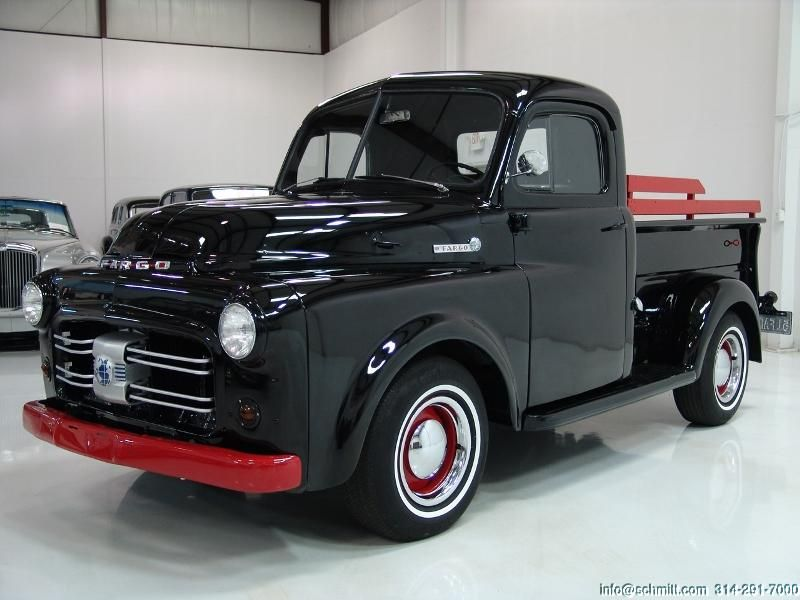 DANIEL SCHMITT CO CLASSIC CAR GALLERY PRESENTS: 1951 FARGO PICK UP ...