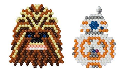 Aquabeads Star Wars BB And Chewbacca Set Amazoncouk Toys - Aquabeads templates