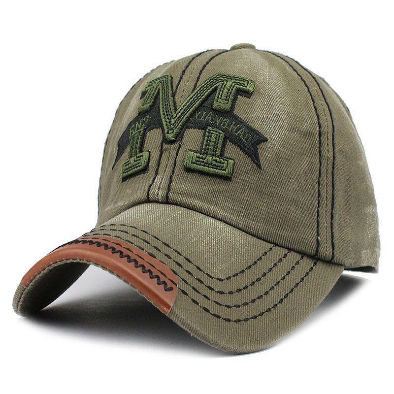 Caps M Casual Sports Hat Snapback Hat Gorra Hombre Solid Cappello ... 0fda28cdd3cc