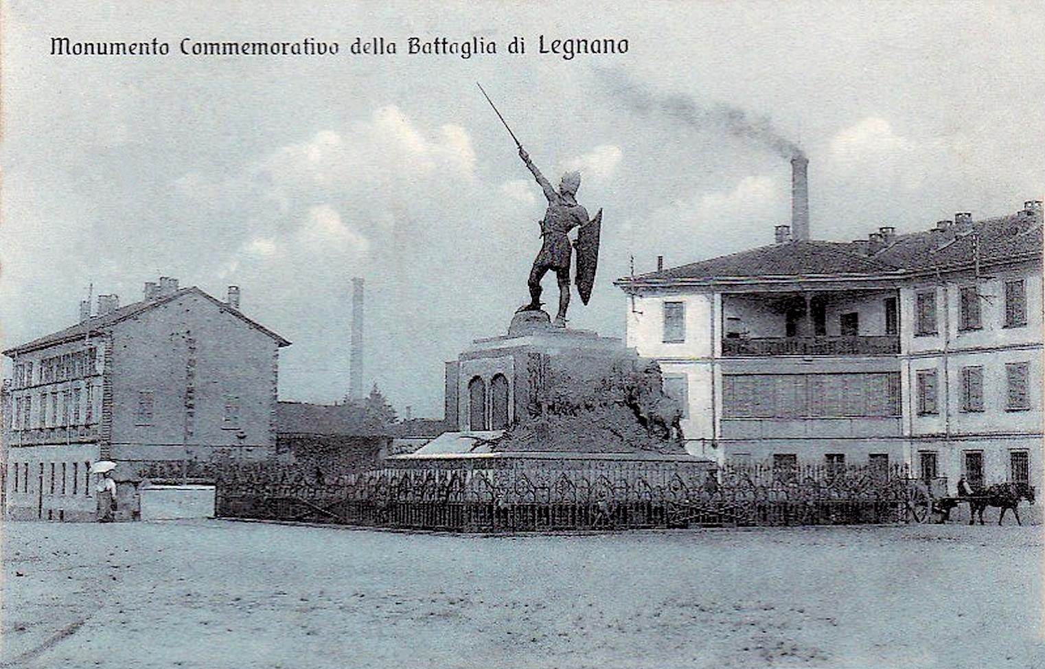 """Legnano, Alberto da Giurano ieri, direi """"qualche"""" anno fa: negli anni '30."""