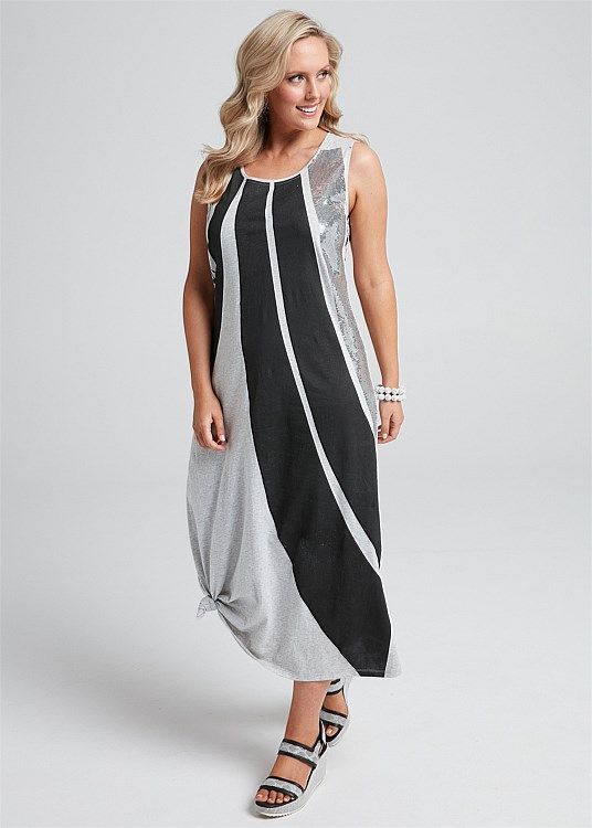 Plus size clearance maxi dress