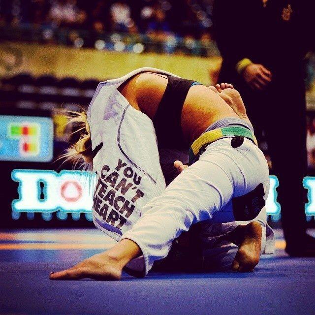 Kettlebell Training For Mixed Martial Arts Brazilian Jiu: You Can't Teach Heart, BJJ