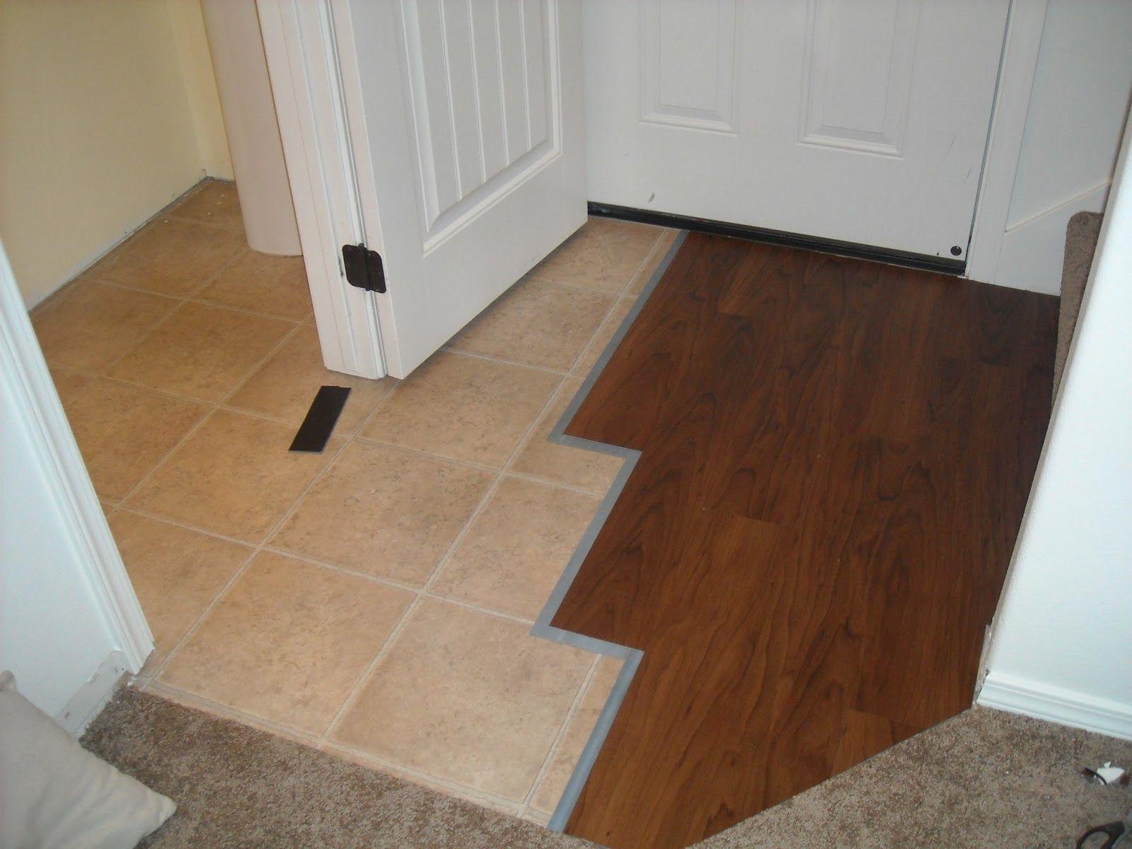 Floating Floor Over Vinyl Tile