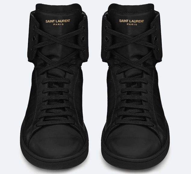 252a1f9917 ysl-saint-laurent-paris-men-sl01h-high-top-sneaker-in-black-leather ...