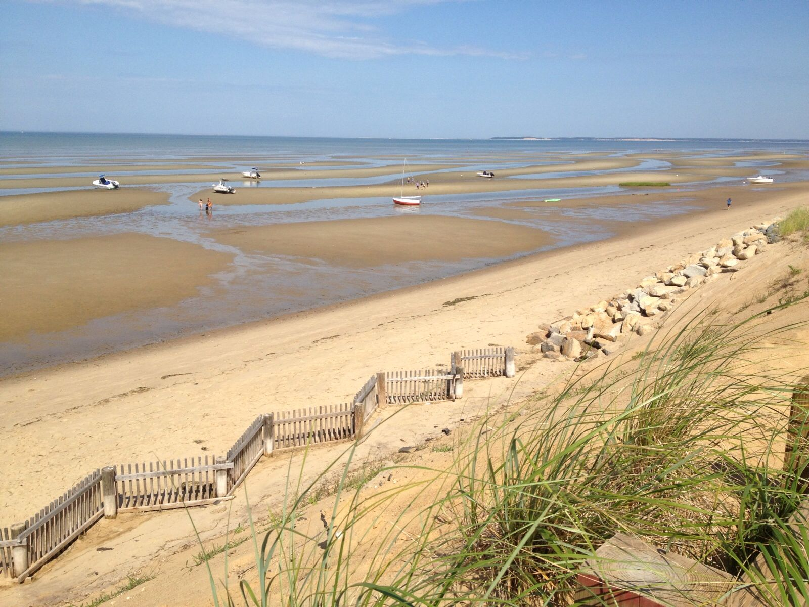 Nice Cape Cod Low Tide Part - 13: Explore Cape Cod Beaches, Footprints, And More! Low Tide ...