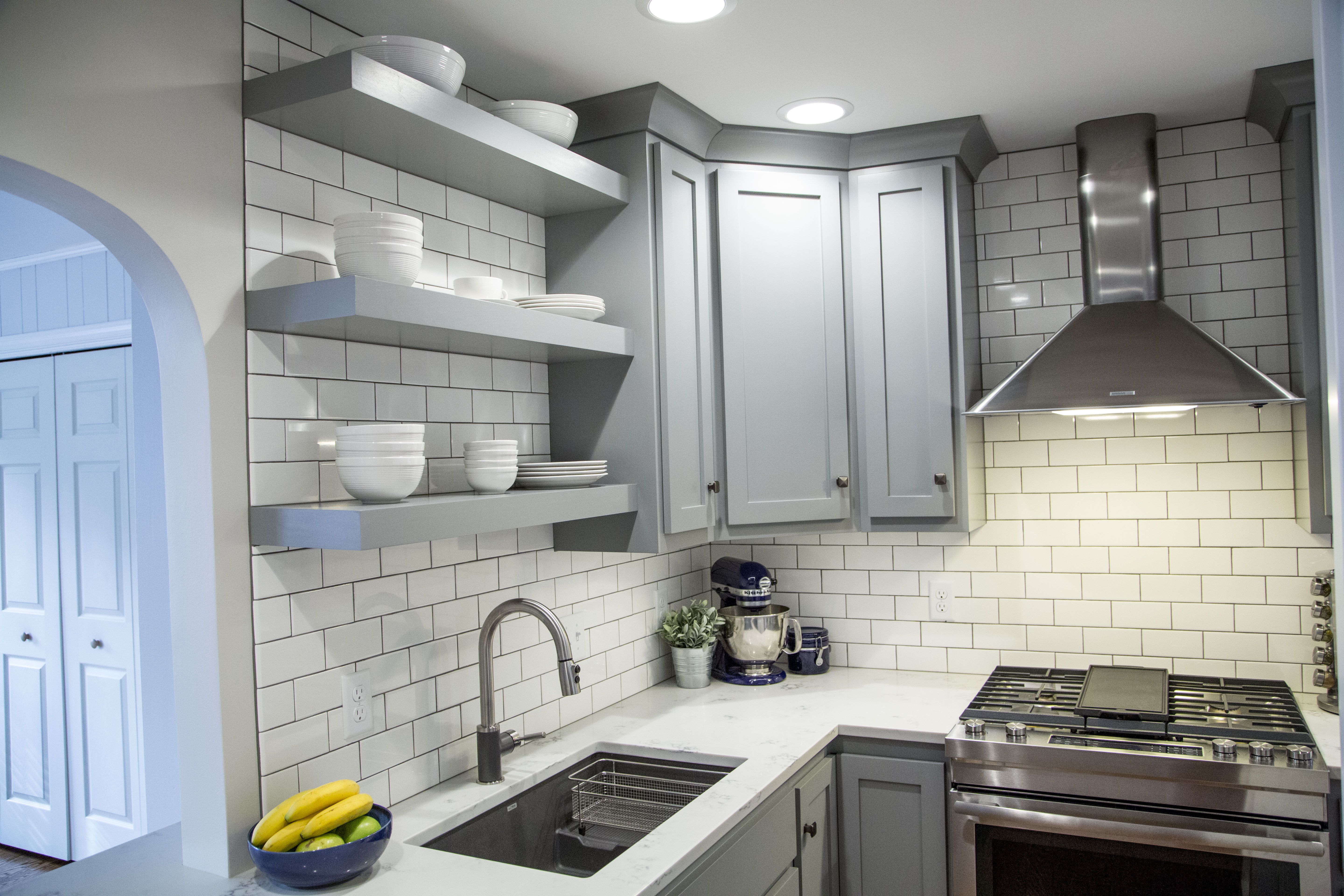 Best Brite White Subway Tile 3X6 Classic French Gray Shaker 400 x 300