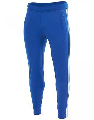 Adidas Originals Reflective 3-Stripes Fitted Blue Track Pants AB7657 Mens  Size M