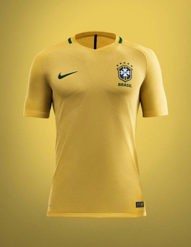 Camisas do Brasil 2016-2017 Nike Copa América Centenario  b97a9b2e5c674