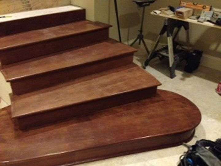Hard Maple Wood Stair Tread   The Rich, Warm Look Of Hard Maple Makes It