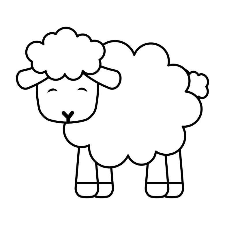 Pecora Da Disegnare A Matita Disegni Facili Disegni Disegni Semplici