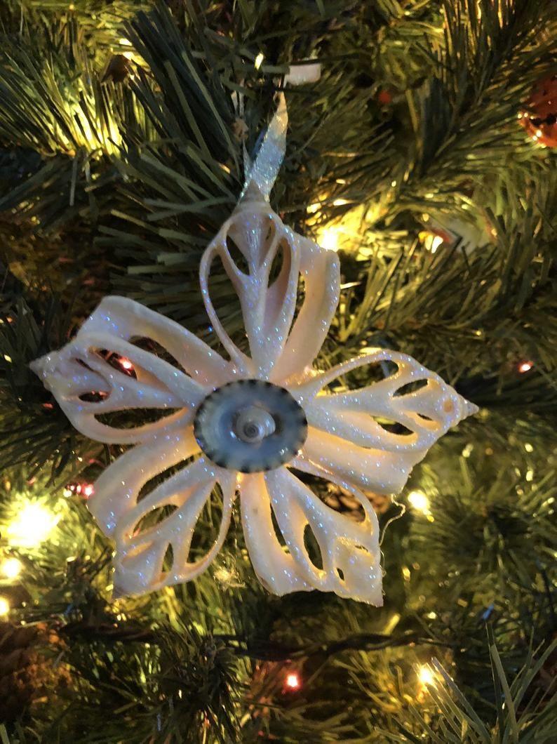 Sparkling Sliced Shell Flower