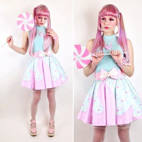 Pastel Fashion SWEET Set of 2 Bracelets Candy Yumekawaii Fairy Kei Decora