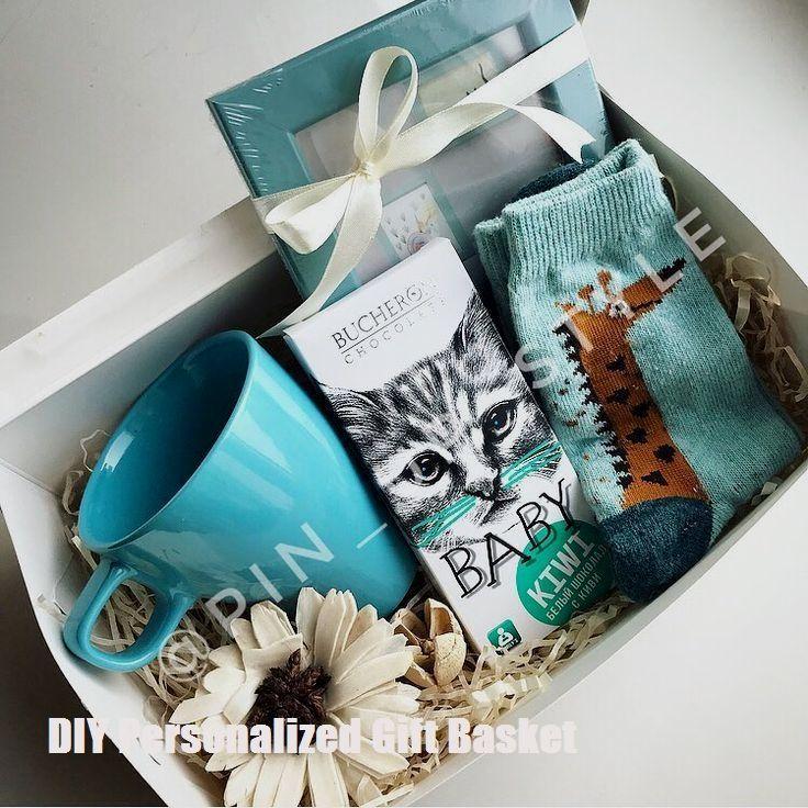 #basket #DIY #Gift #Girlfriend #Kids #mom #Personalized DIY Personalized Gift Baskets
