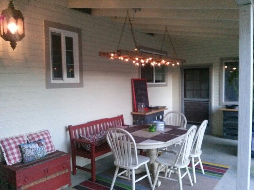 Pretty patio makeover