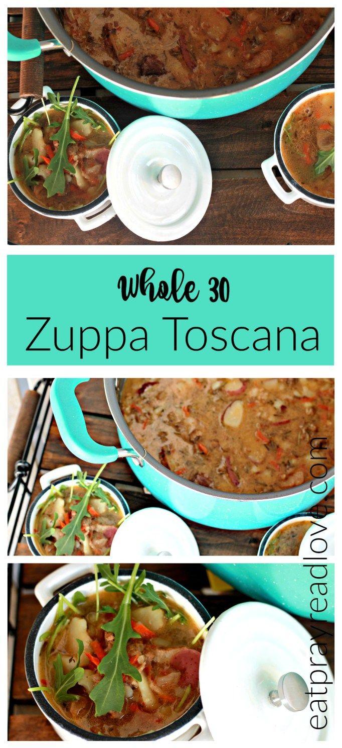 Paleo/Whole30 Zuppa Toscana Recipe Food, Restaurant
