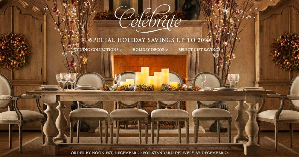 Fireplace Design restoration hardware fireplace : Restoration+Hardware+Christmas+Decorations   during my pursuit of ...