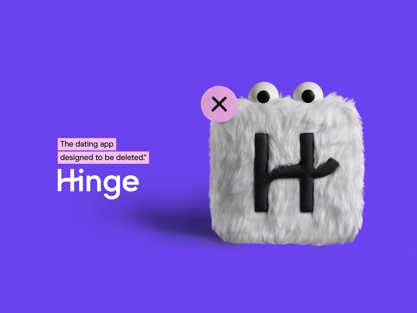 Hinge Campaign on Behance Hinge dating app